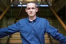Jiří Hájíček, českobudějovický spisovatel a držitel ceny Magnesia Litera, vydá letos nový román Rybí krev.