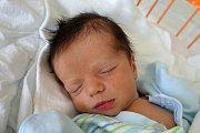 Jindřich Pruška se mamince Janě Pruškové narodil 8. 10. 2018 ve 3,25. Váha po porodu ukazovala 3,47 kg. Nabírat životní zkušenosti bude v Českých Budějovicích. Foto: Ilona Lonsmínová