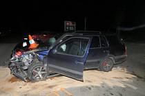Tak dopadlo nedání přednosti v jízdě na křižovatce v Roudném.