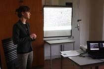 Studenti prezentovali své práce na soutěži.