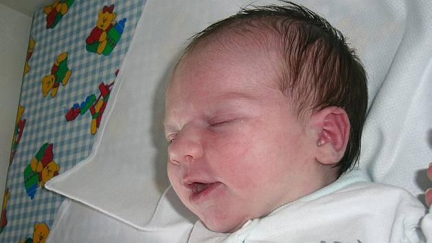 Eliška Rybová, Hluboká nad Vltavou, 15. 6. 2009 v 10.30 h, 3,98 kg