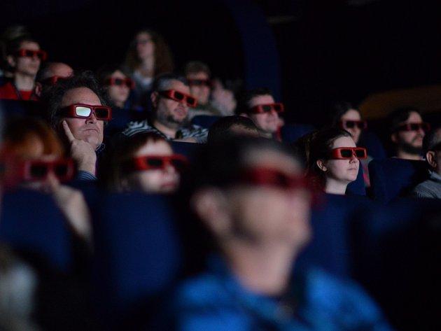 Festival animovaných filmů Anifilm v Třeboni. 3D projekce Aurela Klimta
