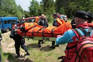 Pátrání po pohřešovaných houbařích, zraněných turistech i cyklistech a dalších výletnicích i na Šumavě horské službě zjednodušuje díky GPS také aplikace Záchranka.