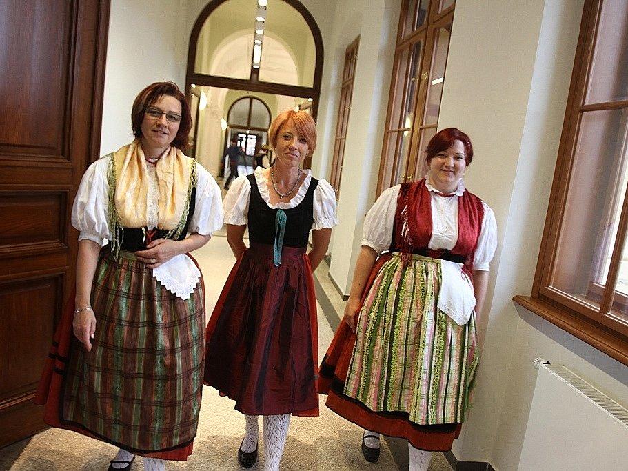 Skončila přestavba Jihočeského muzea za 120 milionů korun. První návštěvníci si zatím prázdné sály prohlédli 16. května.