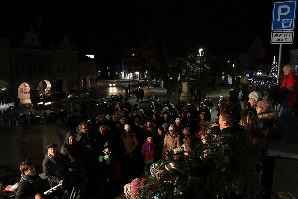 Česko zpívá koledy 2019 v Trhových Svinech.