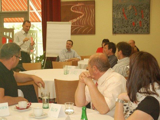Konference Trendy firemního vzdělávání ve třetím tisíciletí.