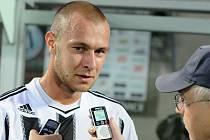 Tomáš Stráský po zápase s Čáslaví odpovídá na dotazy Deníku jižní Čechy.