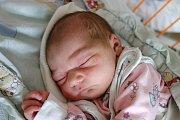 Adéla Šimánková, dcera Michaely Svrčkové z Českých Velenic, spatřila svět v českobudějovické porodnici 11. 7. 2017 ve 14.55 h. V tu chvíli vážila 3.47 kg.
