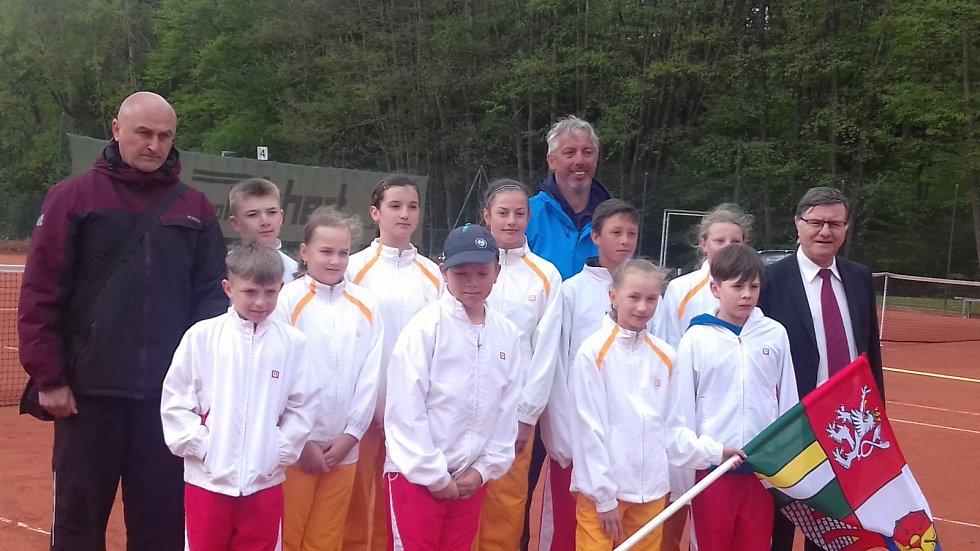Tenis na jihu Čech. Mezinárodní utkání se hrát nebude