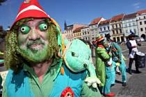 Vodníci z Čech a Moravy pobaví příští týden malé i velké diváky v Chlumu u Třeboně.