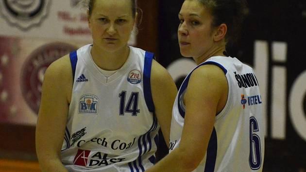SPOLUHRÁČKY. Zora Jilečková (vlevo) a Edita Šujanová patří  k oporám Strakonic.
