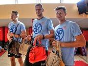 Hráči Jihostroje se zapojili do Kabelkového veletrhu Deníku