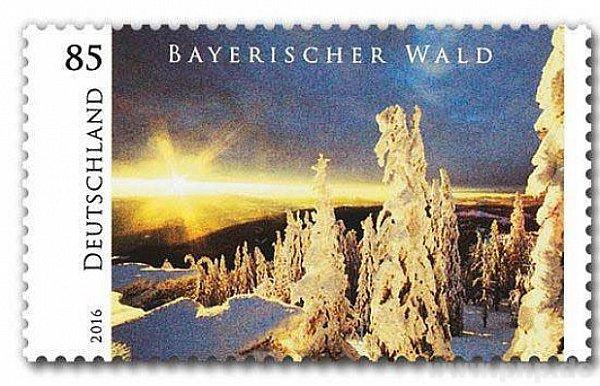 Bavorský les má zvláštní známku.