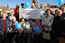 Pochod proti diabetu se ve středu konal v Českých Budějovicích, jako připomínka Světového dne diabetu. Jeho účastníci došli i na náměstí Přemysla Otakara II. Zároveň se konala řada doprovodných akcí v Rekondičním centru Medipont VŠTJ Medicina Praha.