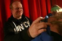 Filmová delegace k filmu Okresní přebor - Poslední zápas Pepika Hnátka v neděli večer v českobudějovickém kině Cinestar.
