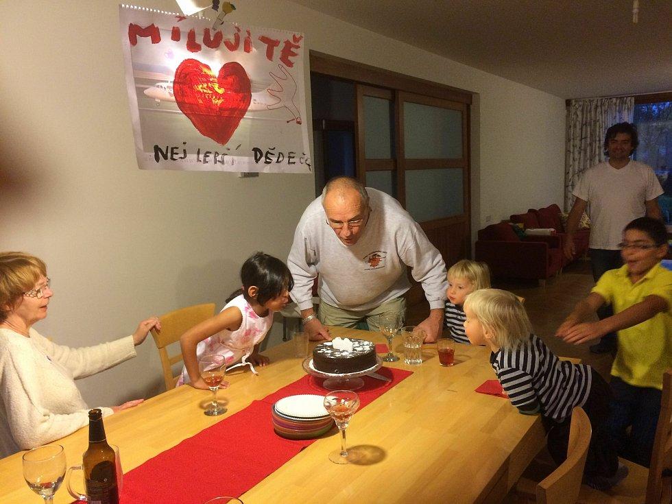 Jiří Hart slaví 75. narozeniny.