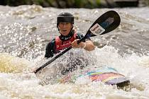 Vodní slalomáři pod Lipnem, Kateřina Kudějová