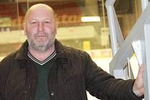 Legendární obránce Rudolf Suchánek.