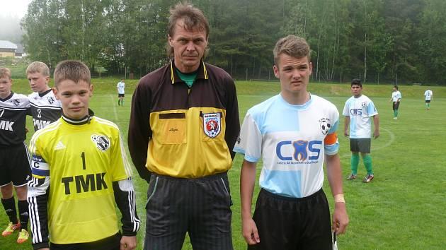Fotbalový turnaj v Loučovicích a v Horní Plané