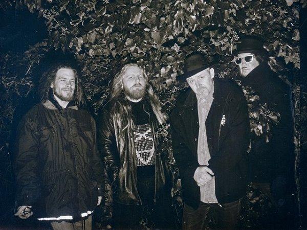Metalová legenda Master'sHammer již jednoho Anděla dostala. Teď má nominaci na dalšího, za album Vagus Vetus. Zleva na snímku Joe Harper, Jan Kapák, František Štorm a Necrocock.