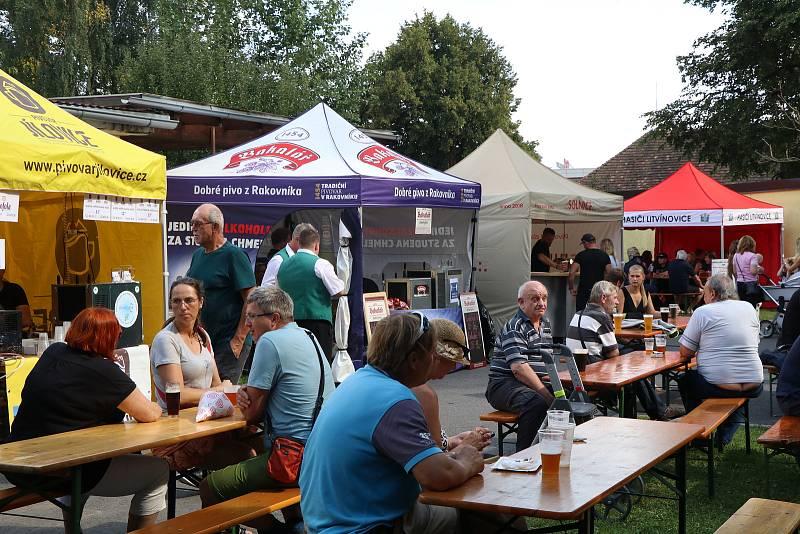 Pivní koštování proběhlo v sobotním odpoledni v hospodské zahradě v Litvínovicích u Českých Budějovic