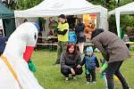 Přehlídka spolků a organizací pracující s dětmi Bambifest láká rodiny s dětmi.