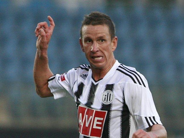 Petr Benát si proti Slovácku po více než po roce opět zahrál první ligu.
