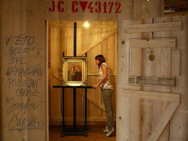 Výstava Heftlink Josef Čapek – příběh posledního obrazu.