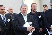 Setkání lídrů s občany v Dasném na Českobudějovicku.
