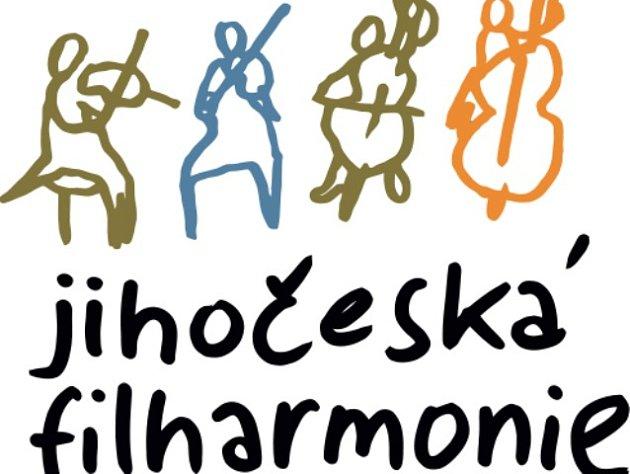 Jihočeská komorní filharmonie. Logo.