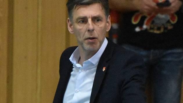 Finále začne v pátek, na dotazy Deníku odpovídal trenér René Dvořák.