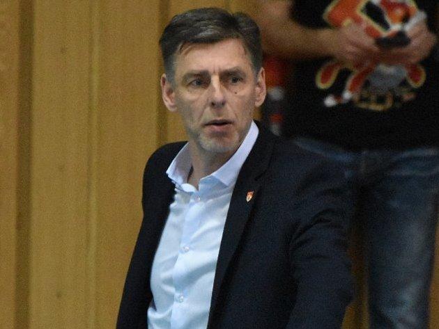 Finále začne vpátek, na dotazy Deníku odpovídal trenér René Dvořák.