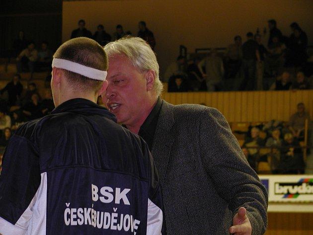 Odstupující trenér Milan Janda