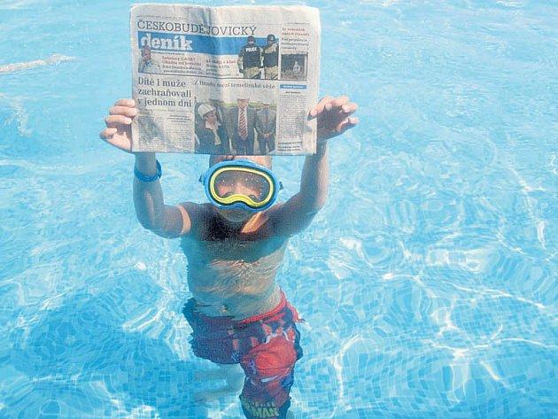 Dovolená s Českobudějovickým deníkem v Turecku, kam jsme s manželem vyrazili s naším osmiletým vnukem Ondrou. Bylo to krásné a vnuk si opravdu užil. Snímek je z hotelového bazénu.