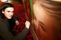 Uvedení české komedie Láska je láska od režiséra Milana Cieslara v českobudějovickém kině Cinestar. Herec Maciej Cymorek