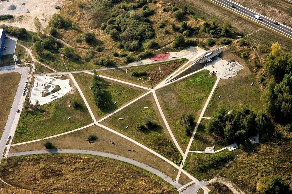 Vizualizace, Park 4Dvory, České Budějovice.