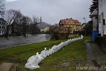 U sousedů zase hrozí povodně.