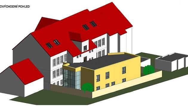 Do dvou let by mělo u stávající budovy ZSF JU v Českých Budějovicích vyrůst Simulační centrum pro zdravotnické obory. Studenti se tu budou učit v místnostech co nejvíce podobných reálnému prostředí.