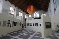 Výstava Kamila Lhoták v Alšově jihočeské galerii v Hluboké nad Vltavou.