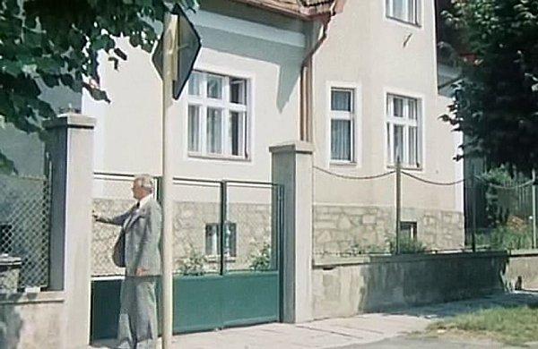 Písecká vilka vseriálu Major Zeman.
