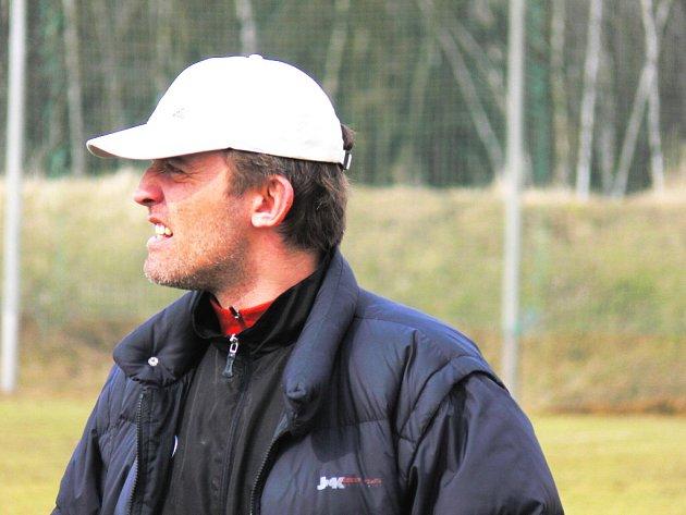 Martin Havel, asistent Jiřího Vlčka u Dynama 18, zápas svých svěřenců proti Liberci patřičně prožíval.