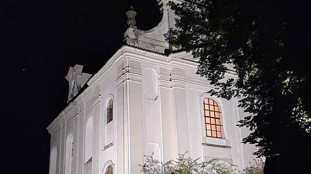 Kostel v Radomyšli.
