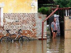 Na jihu Čech bylo povodněmi postiženo téměř 120 obcí. Jednou z nejvíce zasažených byly Milenovice u Protivína, kde Blanice zaplavila třetinu domů.