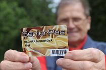 Senior pasy v Českých Budějovicích. Ilustrační foto