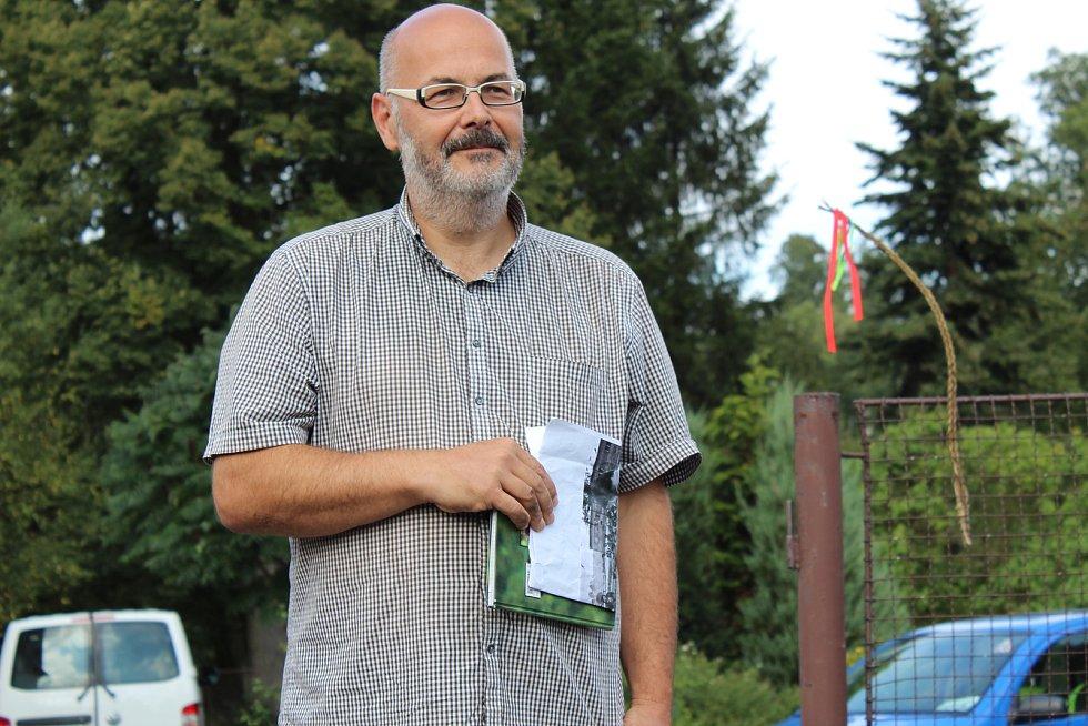 Režisér Vladimír Morávek točí novinku s Jihočeskou filharmonií.