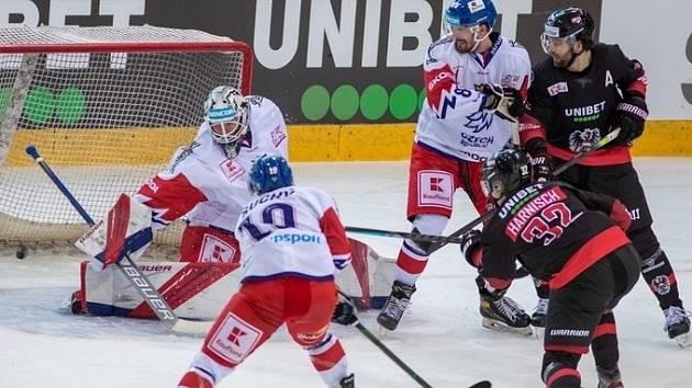 Gólman Roman Will výrazně přispěl k hladkému vítězství českého týmu 5:0 ve Vídni nad Rakouskem a připsal si svou druhou nulu v národním týmu. V sobotu se hraje odveta v J. Hradci.