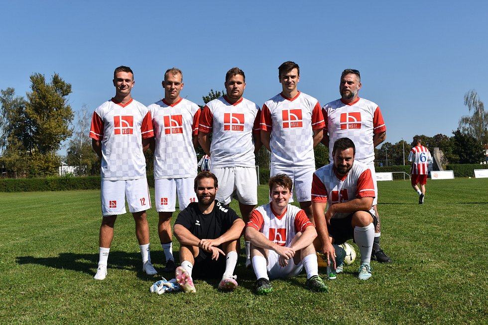 Prvního ročníku Zaměstnanecké ligy Deníku se v úterý účastnil tým VŠTE.