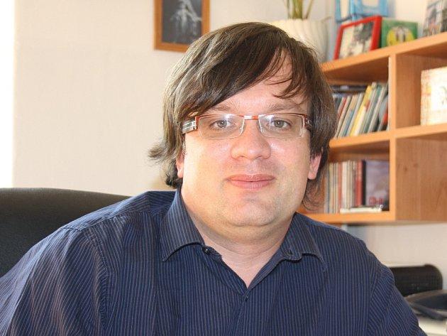 Primář psychiatrického oddělení českobudějovické nemocnice Jan Tuček.