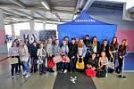 Na přípravě Kabelkového veletrhu 2019 se podíleli studenti Střední školy obchodní České Budějovice, Husova 9 a SŠ a VOŠ Cestovního ruchu České Budějovice.