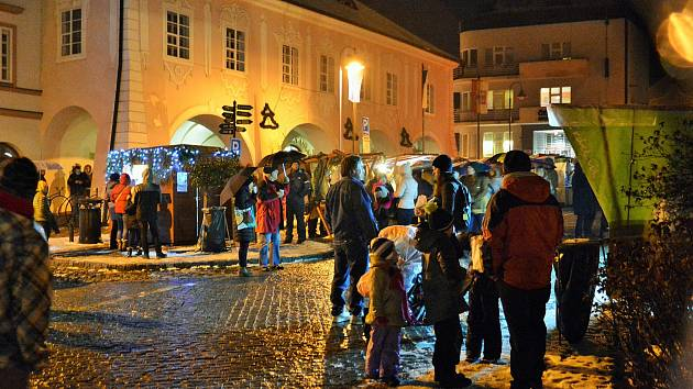 Advent v Týně nad Vltavou.